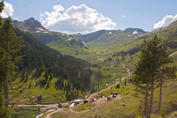 Cinnamon Pass, Colorado  Jeep Tour