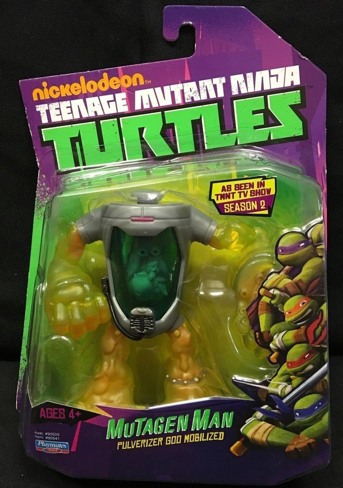 Teenage Mutant Ninja Turtles FISHFACE Nickelodeon TMNT TV Figure Playmates New