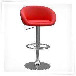 Chintaly Woodbury Adjustable Swivel Bar Stool  sc 1 st  Pinterest & 22 best Bar Stools images on Pinterest | Swivel bar stools Red ... islam-shia.org