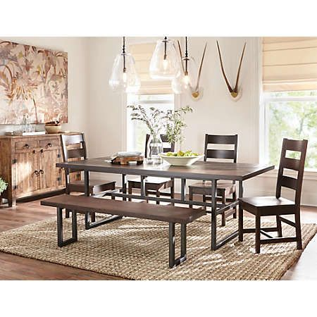 Shown Here: The Art Van Livingston Dining Collection. A Beautiful Option  For A Rustic Part 79