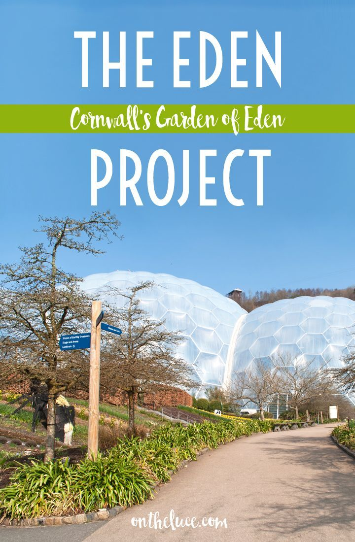 Exploring the gardens of Cornwall's Eden Project, where huge biomes transport you to the rainforest and Mediterranean, whatever the weather.