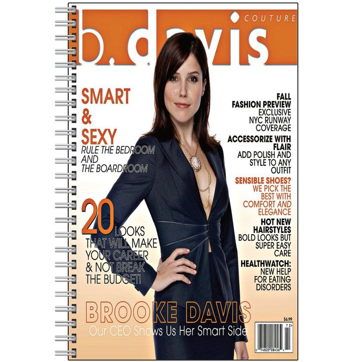 B. DAVIS MAGAZINE Notebook CHECK OUT ALL NOTEBOOKS!