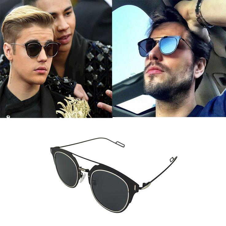 Aliexpress.com: Compre Óculos Polarizados Justin Bieber Selena Gomez Dokly Composit vestindo Óculos De Sol UV 400 Óculos de Sol Do Vintage Óculos De Gafas de confiança Polarizada óculos de sol de marca fornecedores em DOKLY glasses Store