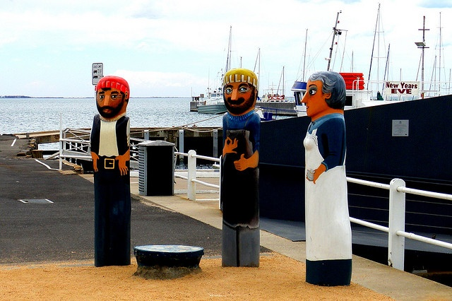 Pier Bollards, Geelong, Australia