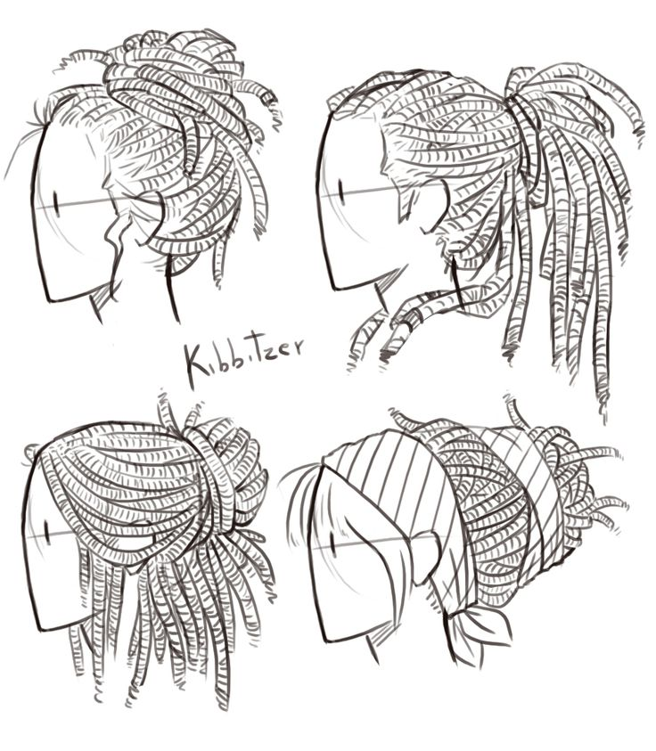 Hair Drawing Tutorial Tumblr Funwcnjpc