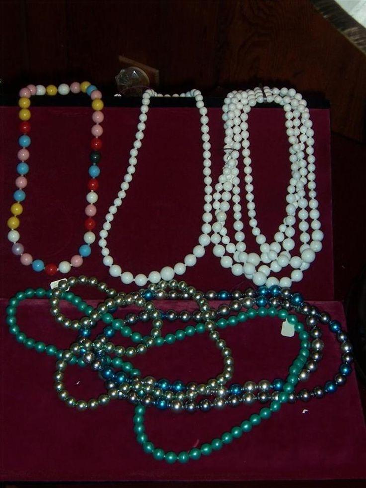 102 Best Vintage Plastic Pop Beads Images su Pinterest-2978