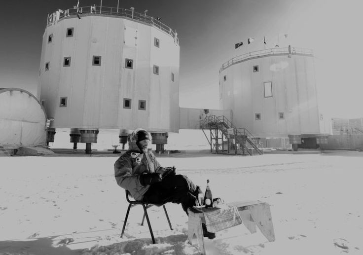 The Lonely Lunch Break of an Antarctic Research Scientist