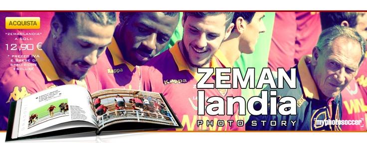"""#ROMA, #ZEMAN, #MYPHOTOSOCCER, #ALBUM, #PHOTO - """"Non è vero che non mi piace vincere: mi piace vincere rispettando le regole"""". Tutta """"ZEMANlandia"""" racchiusa in questo foto-album da collezione. La storia fotografica di Zdenek Zeman e delle sue squadre. Le immagini più belle dagli """"esordi"""" sulla panchina del Foggia fino al ritorno a Roma."""