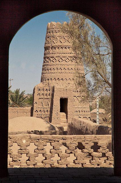Iran - Caravanserai in Shafi Abad, near the city of Kerman
