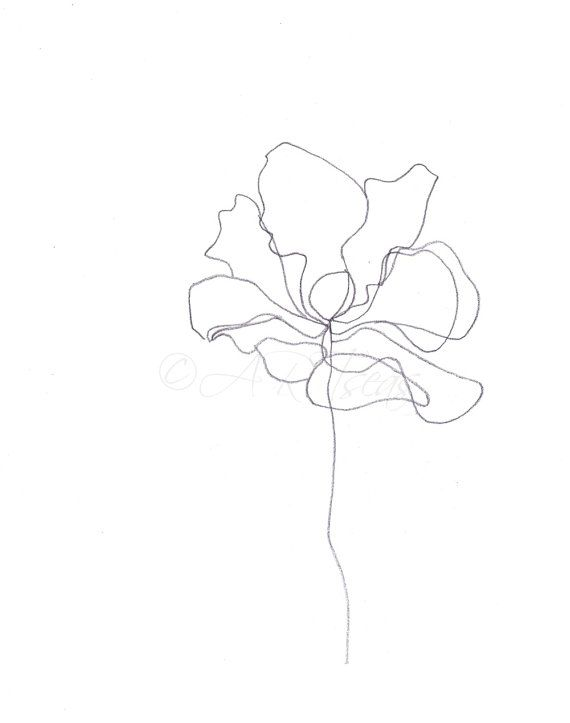 Best 25 simple flower drawing ideas on pinterest dibujo for Flower line drawing tumblr