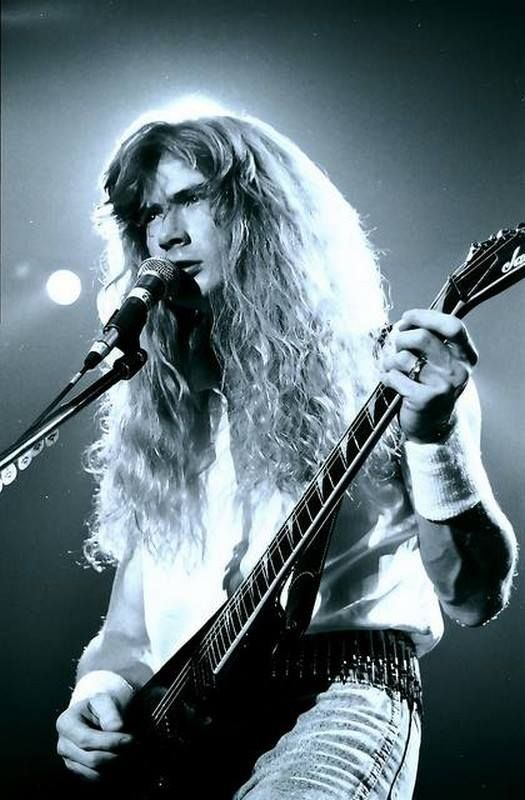 Megadeth - Dave Mustaine.
