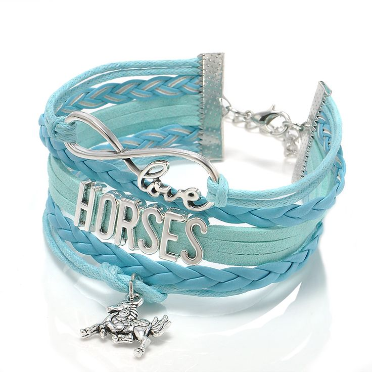 Fashion Jewelry high quality Handmade unisex Barcelet horse Metal Plate decorations Charms 5 color Braided Wristband Bracelets ** This is an AliExpress affiliate pin.  Find similar products on AliExpress website by clicking the VISIT button