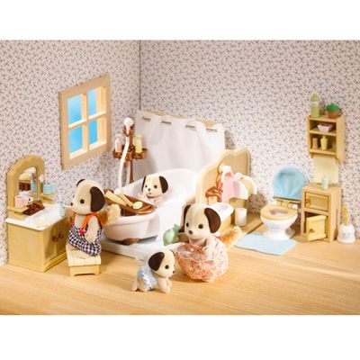 Calico Critters Deluxe Bathroom Set   Blast Groceries. 1000  images about Calico Critters on Pinterest   Stables  Toys