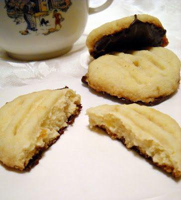 Házias konyha: Csokoládés, narancsos vajaskeksz