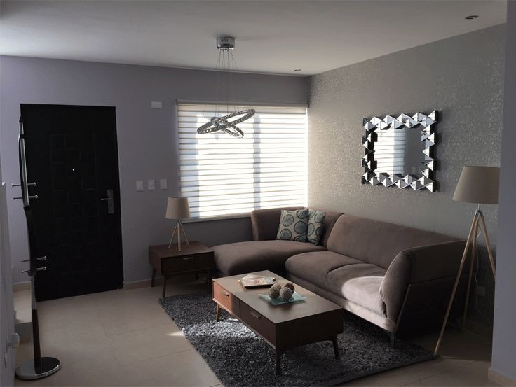 Las 25 mejores ideas sobre casas infonavit en pinterest y m s infonavit plano de casa abierto for Decoraciones de ambientes de casas