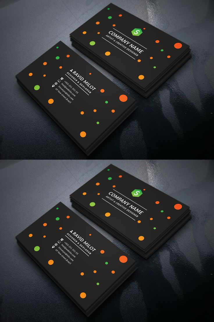 Ravid Milot Personal Business Card Corporate Identity Template, #Personal #Business #Ravid #Milot #Corporateidentity