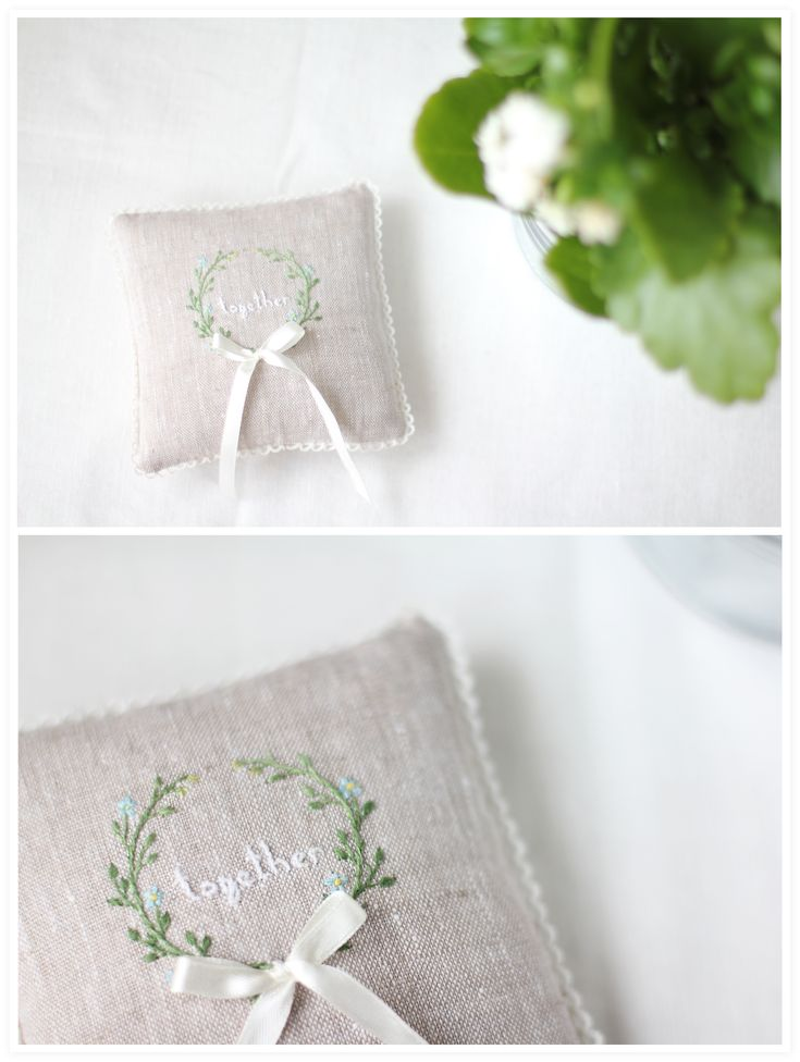 rings pillow with lavender                                                                                                                                                                                 More