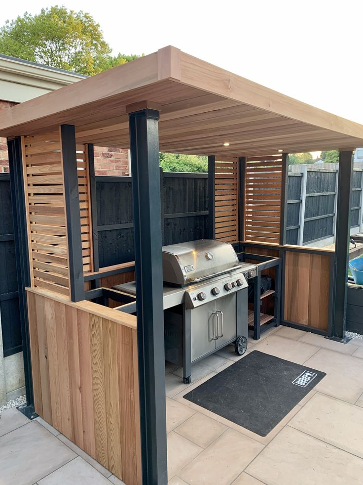 BBQ Shelter From Solace Garden Rooms On Facebook In 2020
