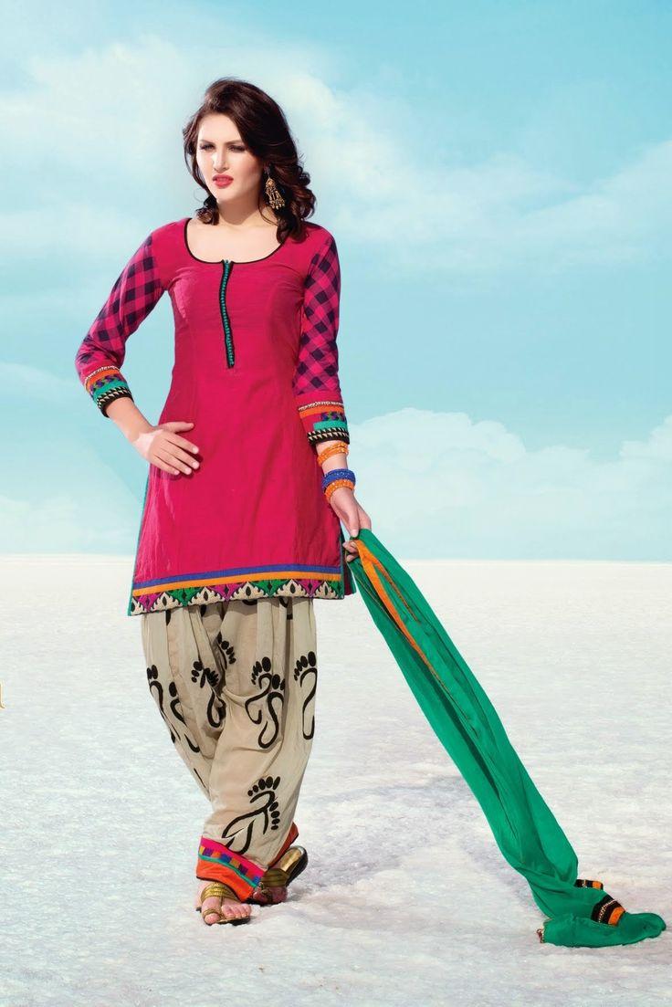Deep Magenta Designer Anarkali Suit