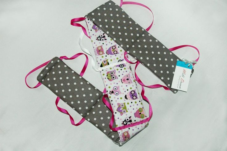 Ochraniacz osłonka na łóżeczko ząbkowanie KOLORY w Mili Dream na DaWanda.com