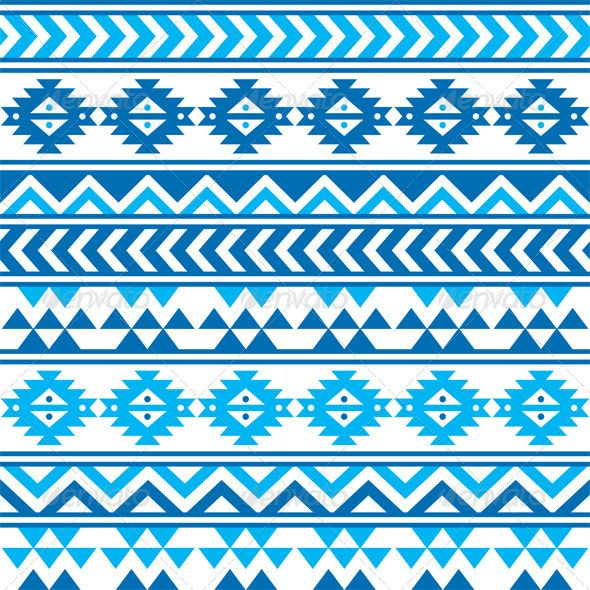 Aztec Tribal Seamless Blue and Navy Pattern #GraphicRiver Vector seamless aztec ornament, ethnic background FEATURES: 100% Vector Shapes All groups have names All elements are easy to modify – you can change coulours, size Pack include version AI, EPS, JPG Created: 5 December 13 Graphics Files Included: JPG Image #Vector EPS #AI Illustrator Layered: Yes Minimum Adobe CS Version: CS Tags Peruvian #abstract #aztec #background #blue #design #ethnic #fabric #geometric #mexican #mexico #navy…