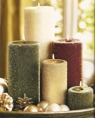28 best images about christmas candles on pinterest for 7 candle christmas decoration