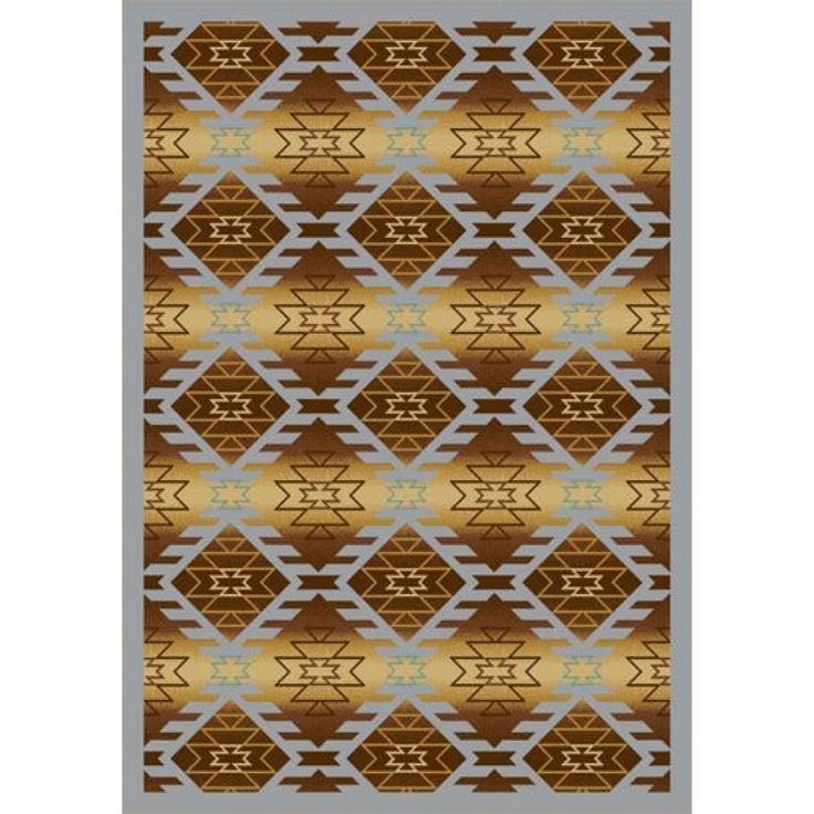 Joy Carpets Whimsy Canyon Ridge Copper Canyon Southwestern Kids Rug - 1577-04