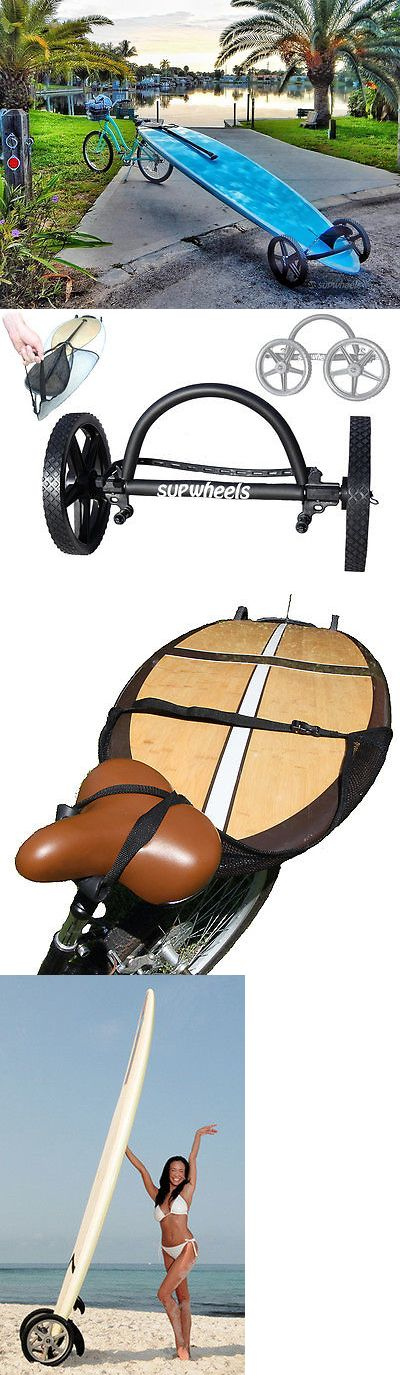 Stand Up Paddleboards 177504: Standup Paddle Board Carrier - Paddle Board Wheeled Trolly Sup Wheels Evolution -> BUY IT NOW ONLY: $149.98 on eBay!