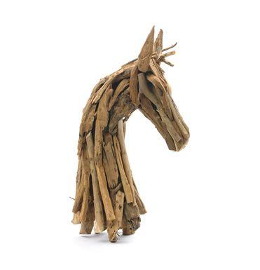 love this driftwood horse head...reminds me of Deborah Butterfield sculptures!