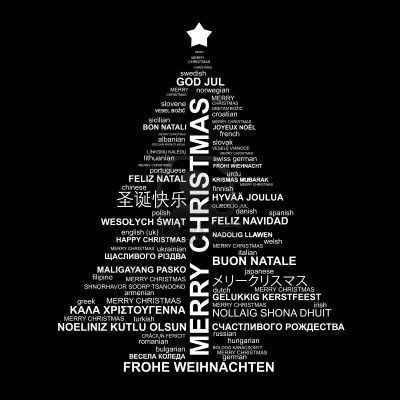 Bon Nadal! ¡Feliz Navidad! Merry Christmas!