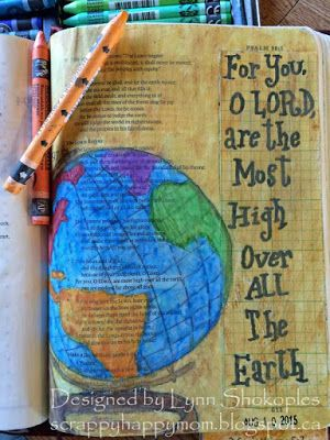 .....Scrappy Happy Mom: Bible Journaling with Rebekah R Jones