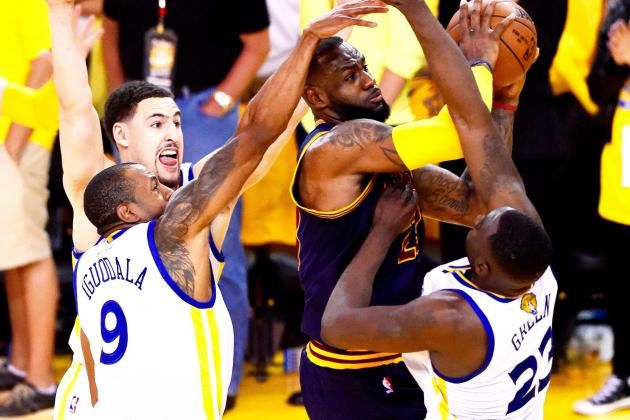 NBA Announces Referees Missed 4 OT Calls in Warriors vs. Cavaliers Game 2