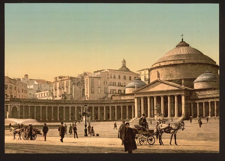 100-Year-Old Photos Give a Rare Colorful Glimpse of Past Generations in Naples