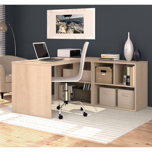 i3 by Bestar L-shaped Storage Desk