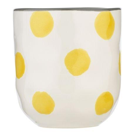 Anais Limited Edition Cuddle Mug 8cm  Dijon Dot