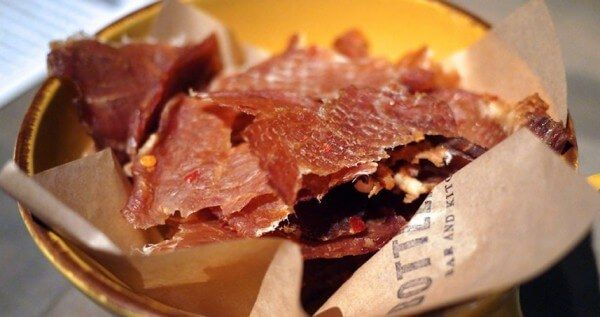 If you make your own beef jerky, why not give this quick and easy chicken jerky recipe a go? Switch out the chicken for turkey and you've got turkey jerky.