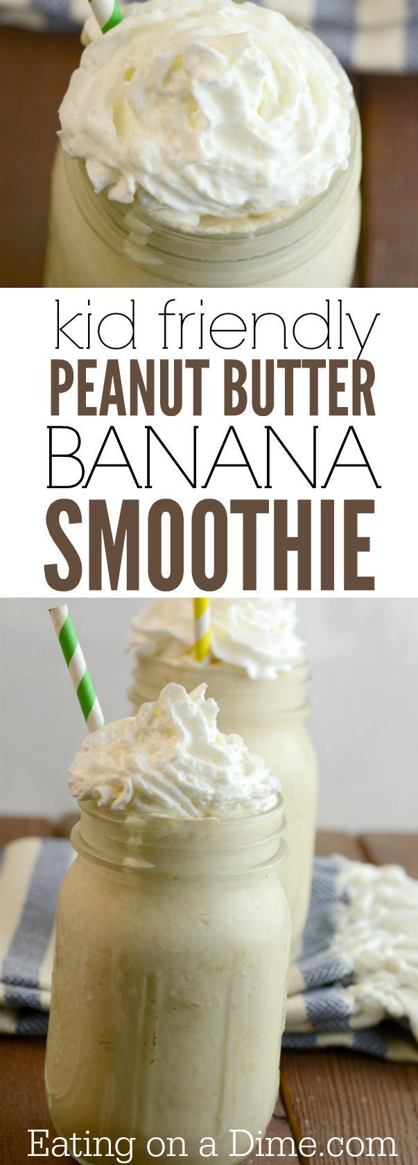 Try this delicious peanut butter banana smoothie recipe. This peanut butter banana almond milk smoothie is delicious and super easy to make. With a few changes and you can also make banana peanut butter greek yogurt smoothies recipe. Either way they are d