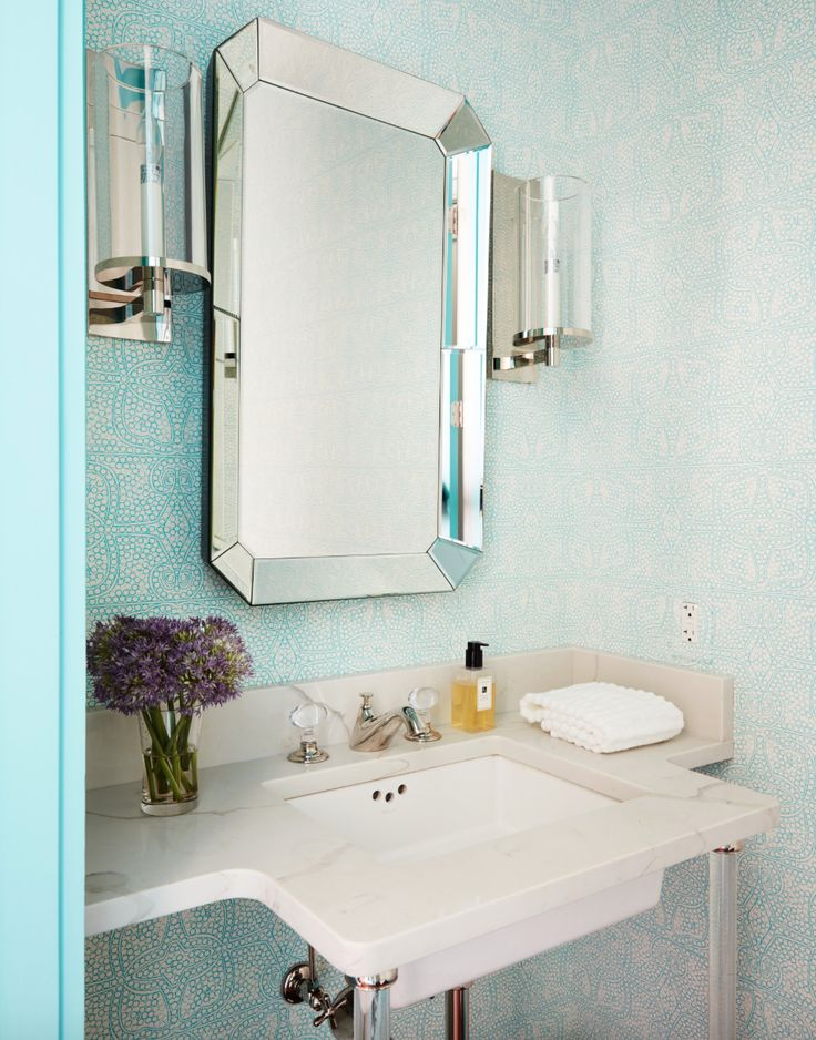 229 Best Images About Pretty Powder Rooms On Pinterest