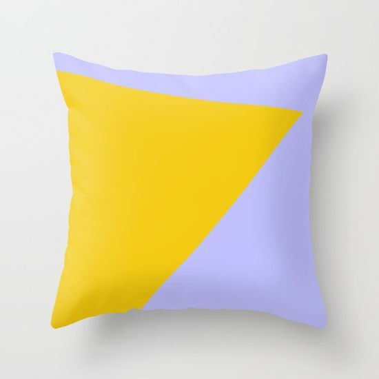Blue Sky and Sunshine Throw Pillow by Bravely Optimistic | Society6