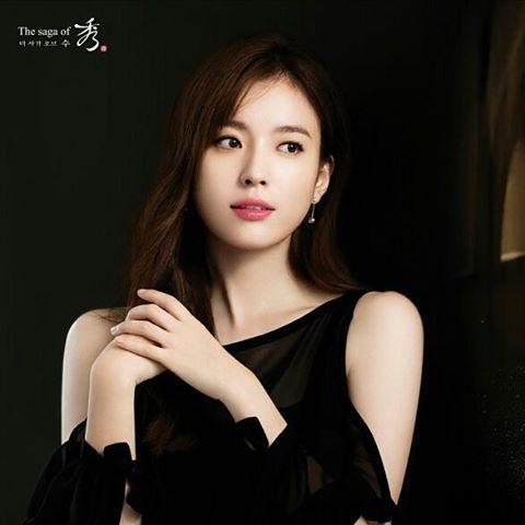 Han HyoJoo #한효주 The Saga of 秀 Cosmetic Campaign 2016 #TheSagaOfXiu #ハンヒョジュ