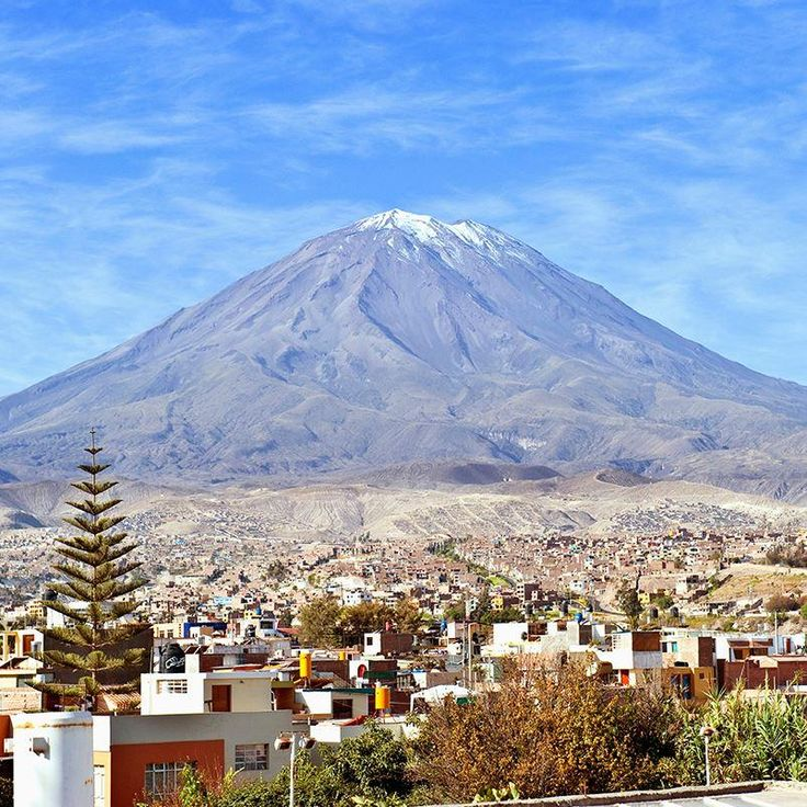 Arequipa, Peru is precariously posed to be the next Pompeii.
