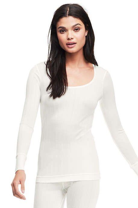 0945246679 Women s Base Layer Long Underwear Silk Scoopneck Top