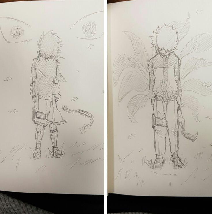#naruto #sasuke #uzumaki #uchiha #anime #manga #fanart #drawing