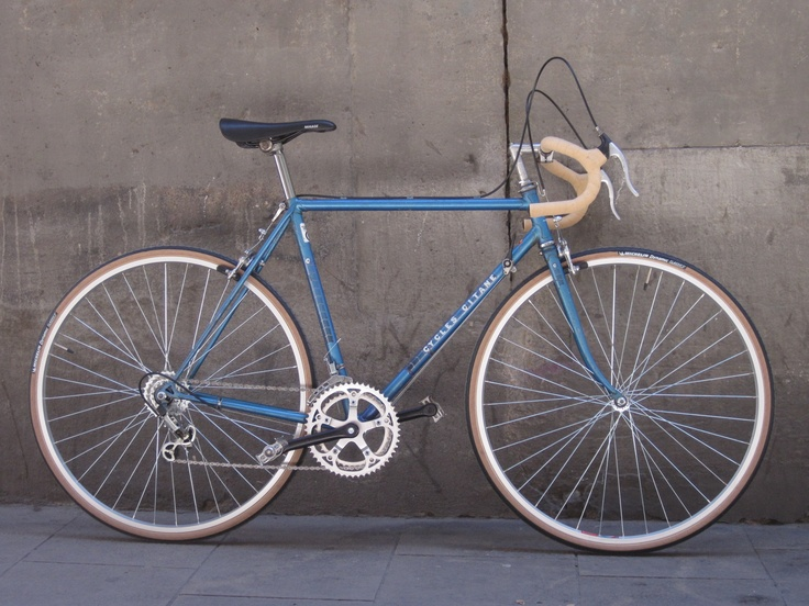 Cycles Gitane Blue Vintage Bikes Pinterest Cycling Vintage
