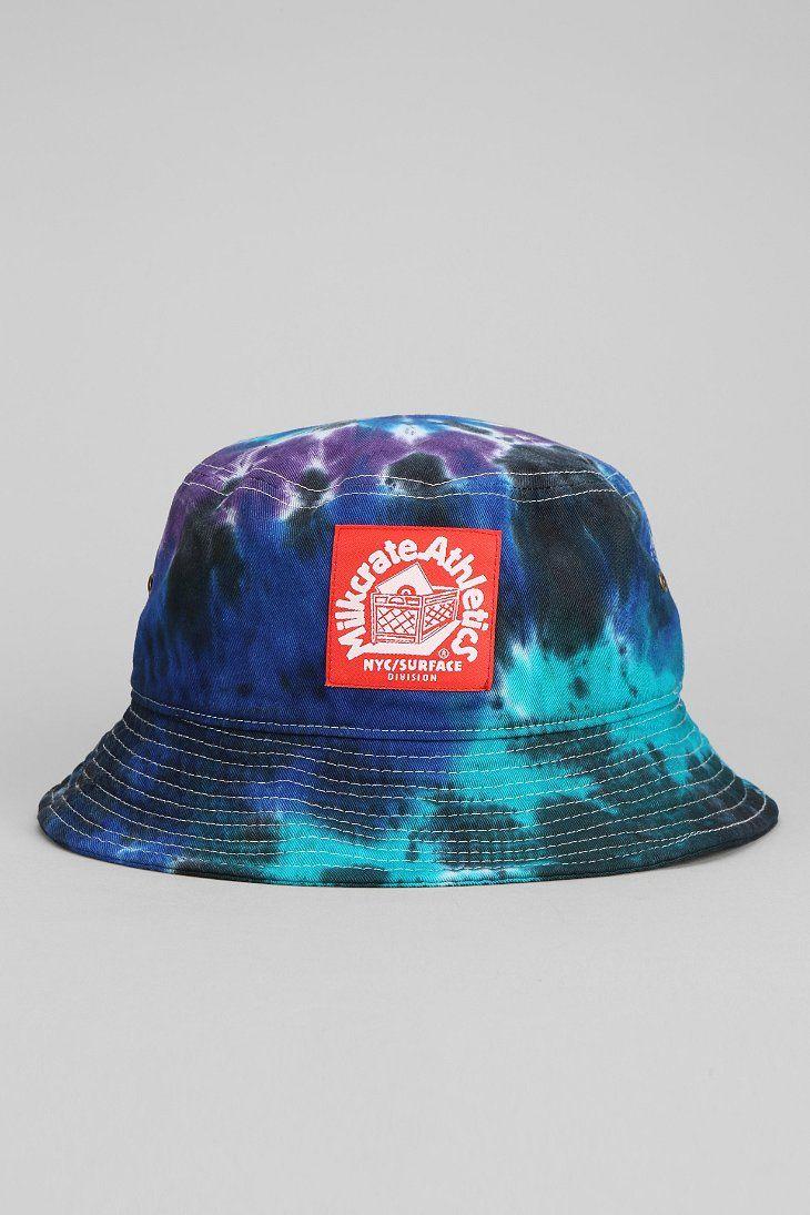 d35a6205b06 Milkcrate Athletics Tie-Dye Bucket Hat