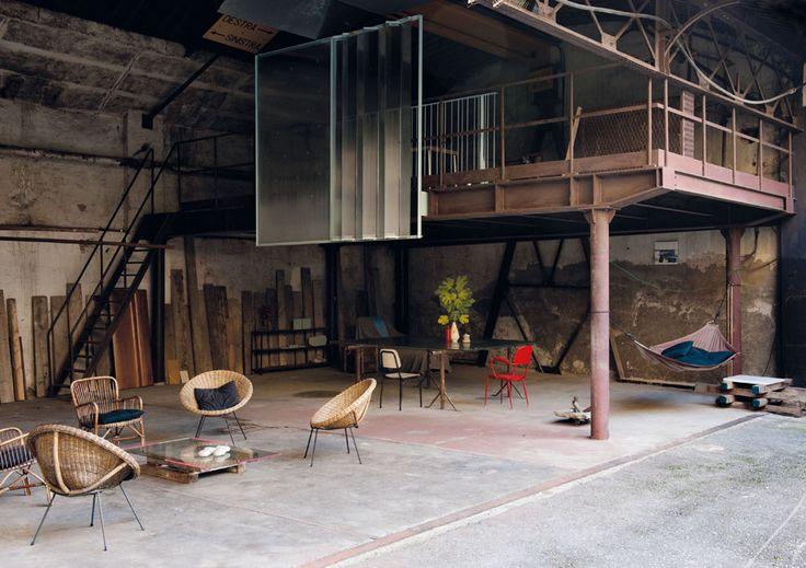Vivre dans une usine |MilK decoration