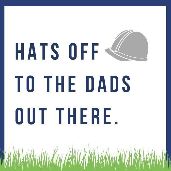 Wishing the dads out there a happy father's day!