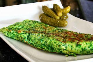 Terapia do Tacho: Omelete de espinafres (Spinach omelet)