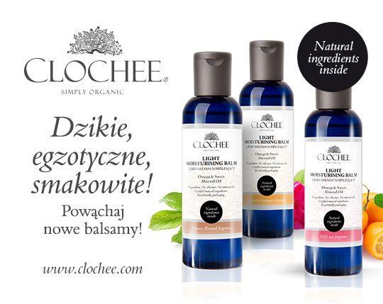 Zrobiło się smacznie! Poznaj nasze nowe balsamy do ciała :-) clochee.com #eko #organic #clochee #naturalnekosmetyki #beauty #skin #women #poland