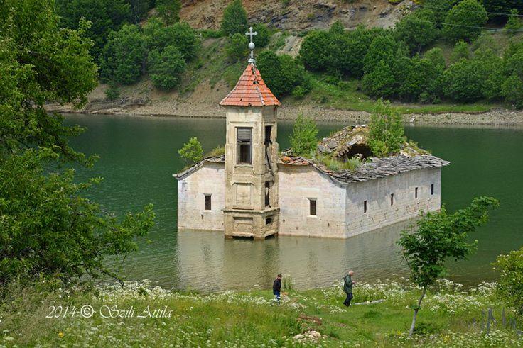 A flooded church - mavrovo, Gostivar